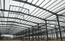 临潼现代物流园新增钢构厂房及三层办公楼
